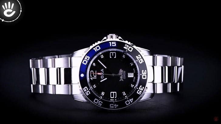 Hàng loạt chi tiết đắt tiền trên đồng hồ Doxa D162SBU (Thụy Sỹ) - Ảnh: 9