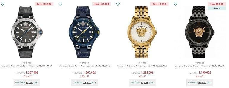 Lịch sử đồng hồ Versace: từ thời trang quyến rũ đến táo bạo - Ảnh: 11