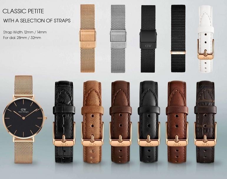 Thay dây da đồng hồ DW (Daniel Wellington) giá rẻ, 100% chính hãng - Ảnh: 2