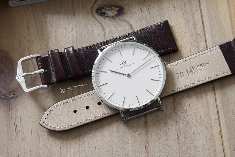 Thay dây da đồng hồ DW (Daniel Wellington) giá rẻ, 100% chính hãng - Ảnh: 5