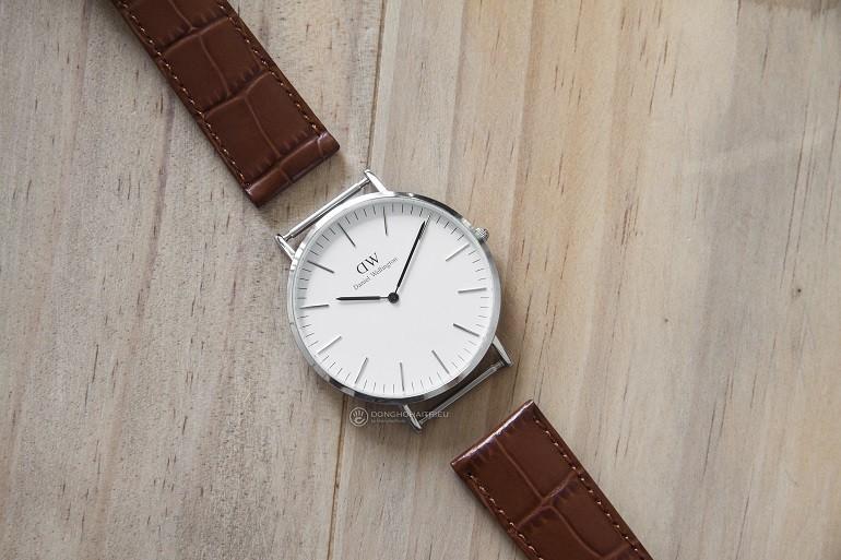 Thay dây da đồng hồ DW (Daniel Wellington) giá rẻ, 100% chính hãng - Ảnh: 4