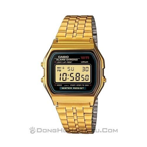 Tốt nghiệp cấp 3 rồi, 20 mẫu đồng hồ điện tử mùa chia tay thôi! - Ảnh: Casio A159WGEA-1DF