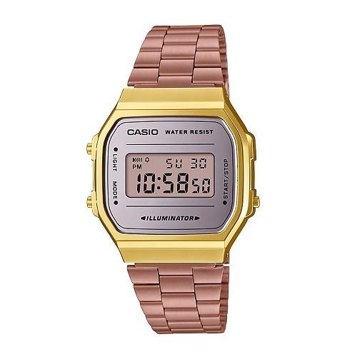 Tốt nghiệp cấp 3 rồi, 20 mẫu đồng hồ điện tử mùa chia tay thôi! - Ảnh: Casio A168WECM-5DF
