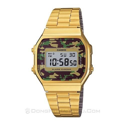 Tốt nghiệp cấp 3 rồi, 20 mẫu đồng hồ điện tử mùa chia tay thôi! - Ảnh: Casio A168WEGC-3DF