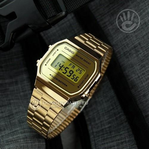 Tốt nghiệp cấp 3 rồi, 20 mẫu đồng hồ điện tử mùa chia tay thôi! - Ảnh: Casio A168WEGM-9DF