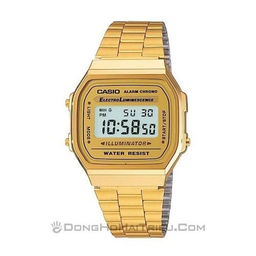 Tốt nghiệp cấp 3 rồi, 20 mẫu đồng hồ điện tử mùa chia tay thôi! - Ảnh: Casio A168WG-9WDF
