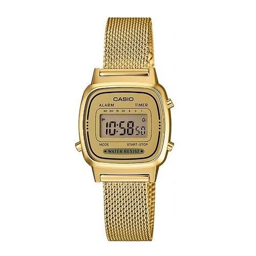 Tốt nghiệp cấp 3 rồi, 20 mẫu đồng hồ điện tử mùa chia tay thôi! - Ảnh: Casio LA670WEMY-9DF