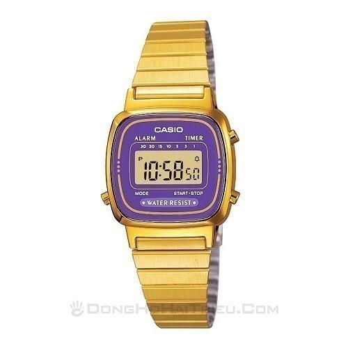 Tốt nghiệp cấp 3 rồi, 20 mẫu đồng hồ điện tử mùa chia tay thôi! - Ảnh: Casio LA670WGA-6DF