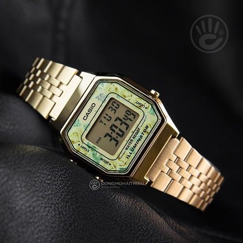 Tốt nghiệp cấp 3 rồi, 20 mẫu đồng hồ điện tử mùa chia tay thôi! - Ảnh: Casio LA680WGA-9CDF