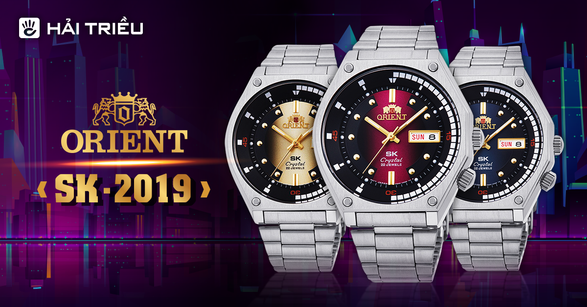 Bộ sưu tập đồng hồ Orient SK 2019