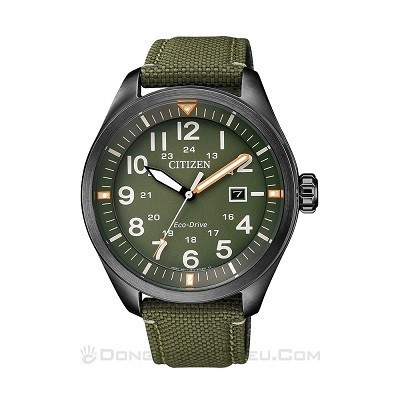 5 Mẫu đồng hồ quân đội chính hãng giá rẻ nhất, chỉ từ 1 triệu - Ảnh: Citizen AW5005-21Y