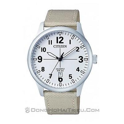 5 Mẫu đồng hồ quân đội chính hãng giá rẻ nhất, chỉ từ 1 triệu - Ảnh: Citizen BI1050-05A