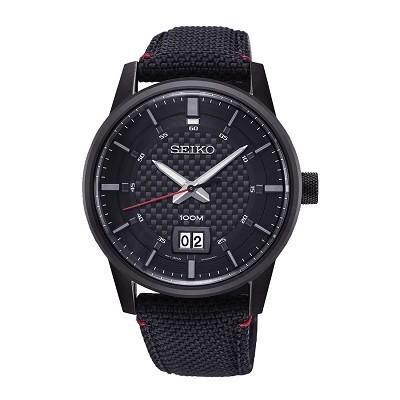 5 Mẫu đồng hồ quân đội chính hãng giá rẻ nhất, chỉ từ 1 triệu - Ảnh: Seiko SUR271P1