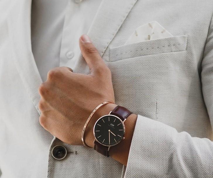 Đồng hồ nam Daniel Wellington DW00100125 thời trang, tinh tế - Ảnh 3