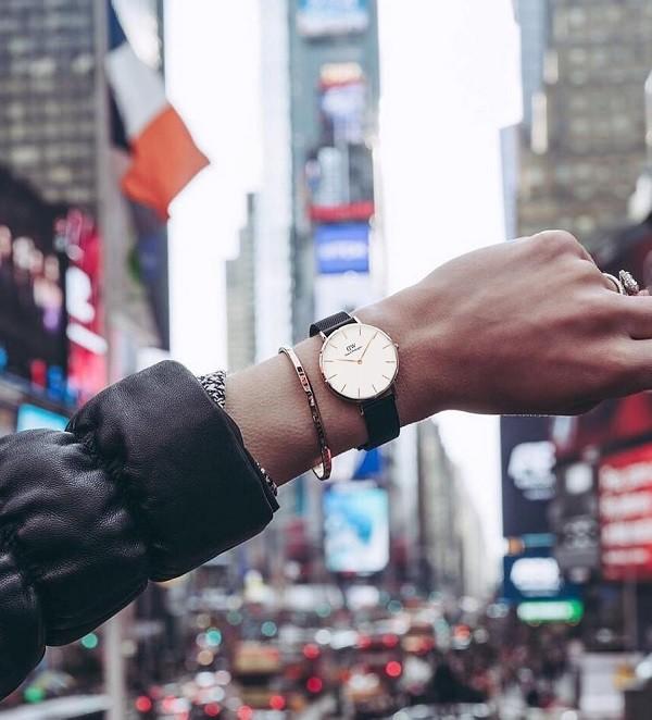 Đồng hồ Daniel Wellington DW00100254 siêu mỏng thời thượng - Ảnh 3