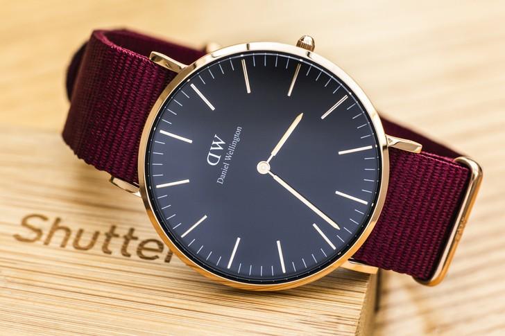 Đồng hồ Daniel Wellington DW00100269: Quyến rũ từ màu sắc - Ảnh 2