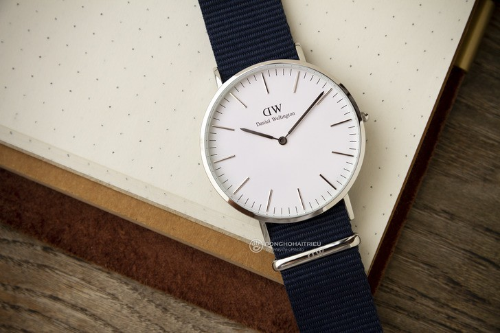 Đồng hồ Daniel Wellington DW00100276: Sắc xanh của tuổi trẻ - Ảnh 2