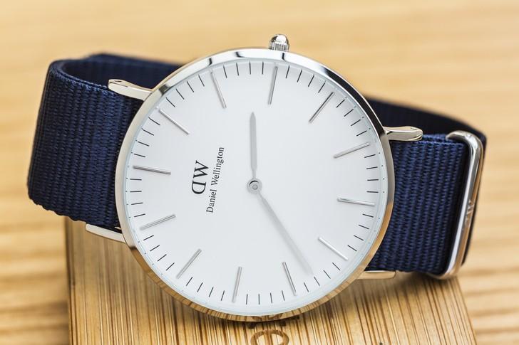 Đồng hồ Daniel Wellington DW00100276: Sắc xanh của tuổi trẻ - Ảnh 3