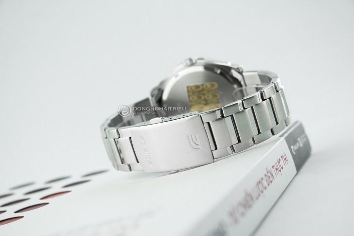 Đồng hồ Casio EF-129D-1AVUDF chịu nước 10ATM, đi bơi thoải mái - Ảnh: 5