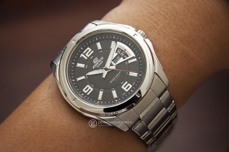 Đồng hồ Casio EF-129D-1AVUDF chịu nước 10ATM, đi bơi thoải mái - Ảnh: 9