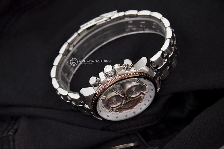 Đồng hồ Casio EF-558D-7AVUDF chống nước cao, có Tachymeter - Ảnh: 5