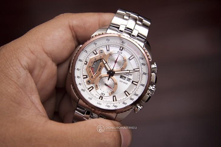 Đồng hồ Casio EF-558D-7AVUDF chống nước cao, có Tachymeter - Ảnh: 7