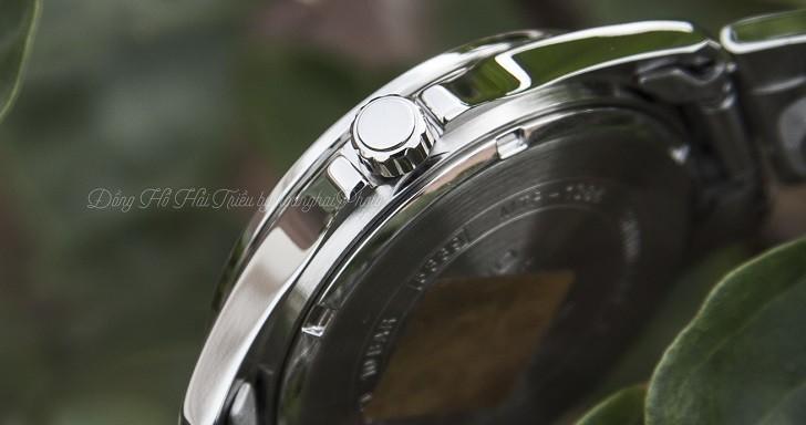 Đồng hồ Casio MTP-1384D-1AVDF giá rẻ, đi bơi thoải mái - Ảnh: 2