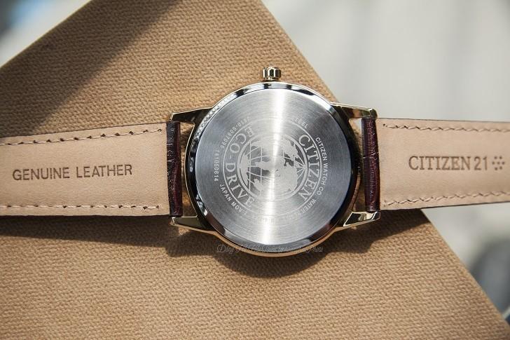 Đồng hồ Citizen AW1233-01A máy Eco-Drive, mạ vàng PVD - Ảnh: 2