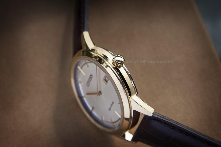 Đồng hồ Citizen AW1233-01A máy Eco-Drive, mạ vàng PVD - Ảnh: 3