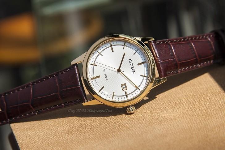 Đồng hồ Citizen AW1233-01A máy Eco-Drive, mạ vàng PVD - Ảnh: 4