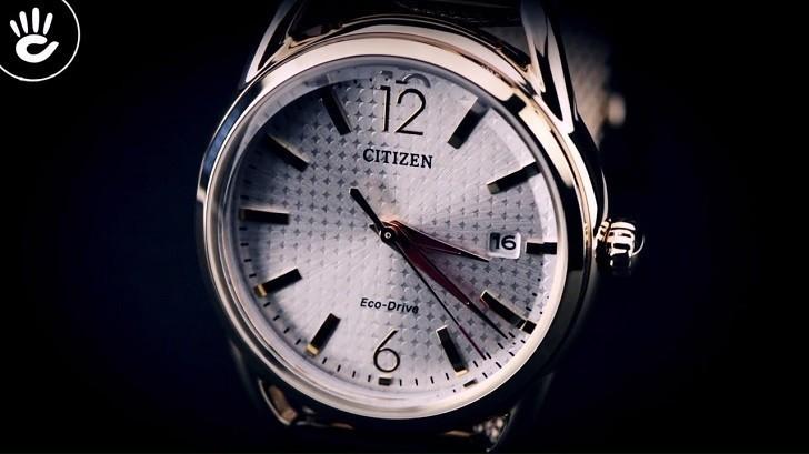 Đồng hồ Citizen FE6089-84A (nữ) dây lưới, máy Eco-Drive - Ảnh: 3