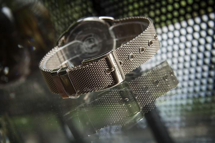 Đồng hồ Citizen FE6089-84A (nữ) dây lưới, máy Eco-Drive - Ảnh: 4
