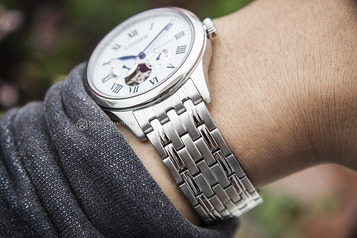 "Đồng hồ Citizen NP1020-82A máy cơ ""Open Heart"", trữ cót 40 giờ - Ảnh: 4"