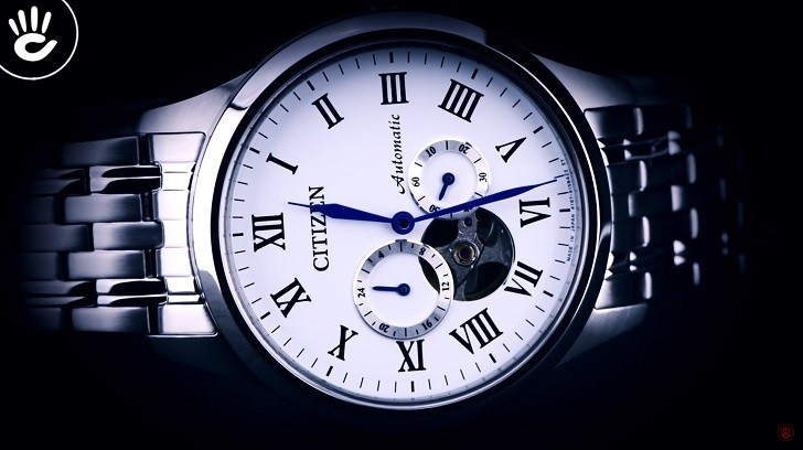 "Đồng hồ Citizen NP1020-82A máy cơ ""Open Heart"", trữ cót 40 giờ - Ảnh: 6"
