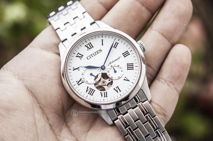 "Đồng hồ Citizen NP1020-82A máy cơ ""Open Heart"", trữ cót 40 giờ - Ảnh: 7"