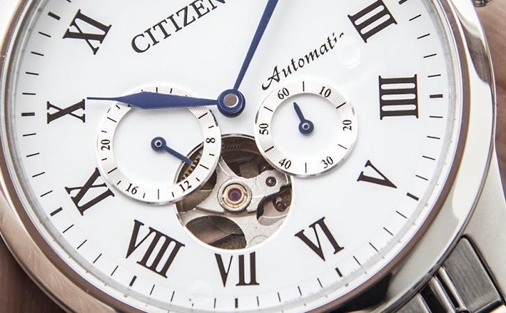 "Đồng hồ Citizen NP1020-82A máy cơ ""Open Heart"", trữ cót 40 giờ - Ảnh: 9"