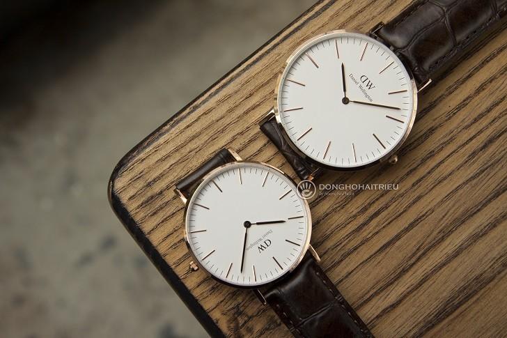 Đồng hồ Daniel Wellington DW00100011 chính hãng, giá rẻ - Ảnh: 2