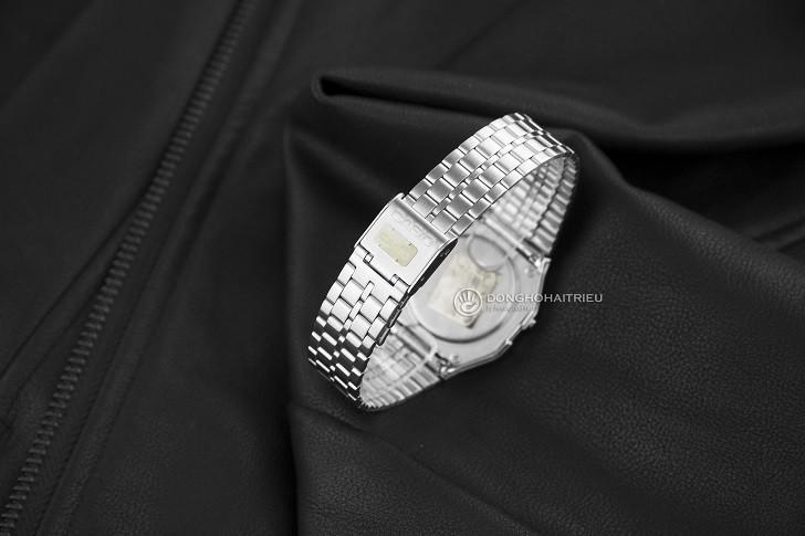 Đồng hồ điện tử Casio A159WAD-1DF giá rẻ, đính kim cương - Ảnh: 5