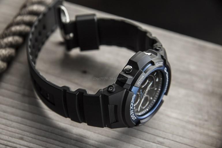 Đồng hồ G-Shock AW-591-2ADR có dạ quang, chịu nước 20ATM - Ảnh: 4