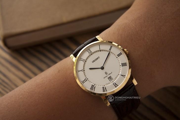 Đồng hồ Orient FGW0100FW0 siêu mỏng giá rẻ, kính sapphire - Ảnh: 11
