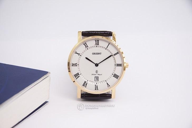 Đồng hồ Orient FGW0100FW0 siêu mỏng giá rẻ, kính sapphire - Ảnh: 4