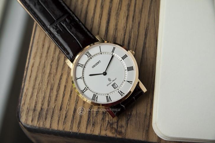Đồng hồ Orient FGW0100FW0 siêu mỏng giá rẻ, kính sapphire - Ảnh: 7