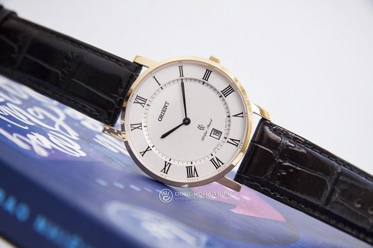 Đồng hồ Orient FGW0100FW0 siêu mỏng giá rẻ, kính sapphire - Ảnh: 8