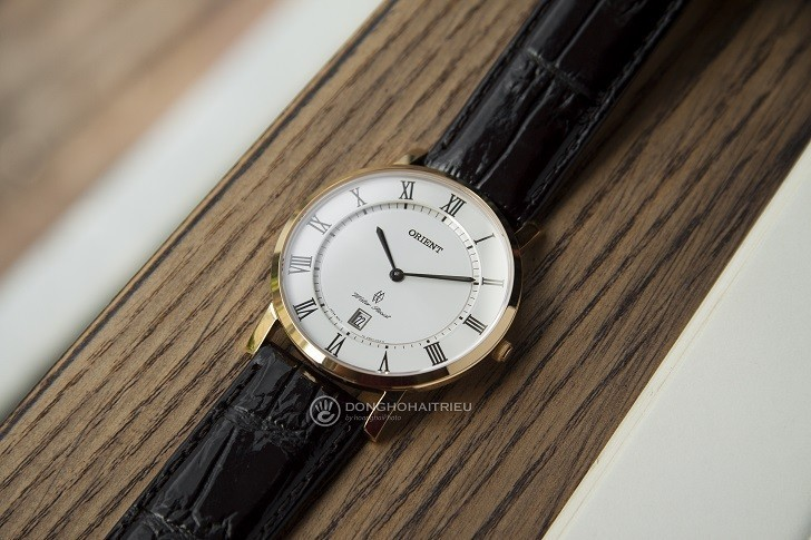 Đồng hồ Orient FGW0100FW0 siêu mỏng giá rẻ, kính sapphire - Ảnh: 9