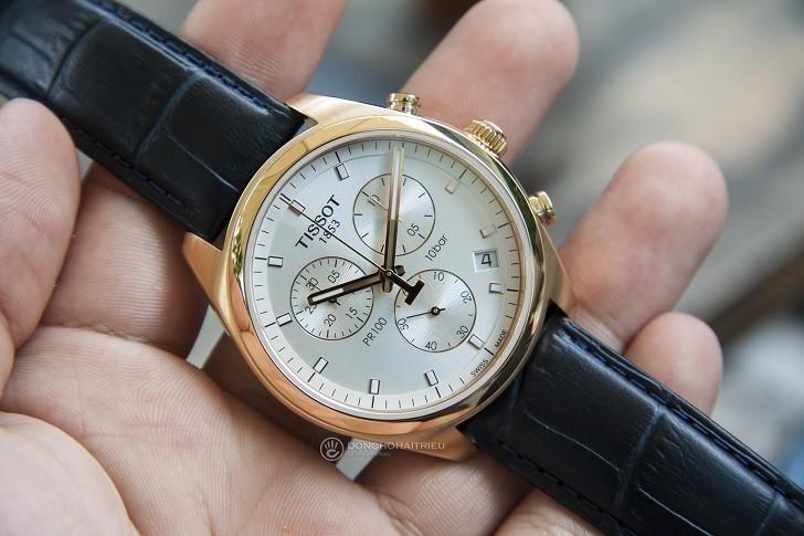 Đồng hồ Tissot T101.417.36.031.00 có Chronograph, chịu nước 10ATM - Ảnh: 1