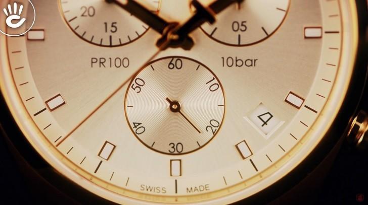 Đồng hồ Tissot T101.417.36.031.00 có Chronograph, chịu nước 10ATM - Ảnh: 5