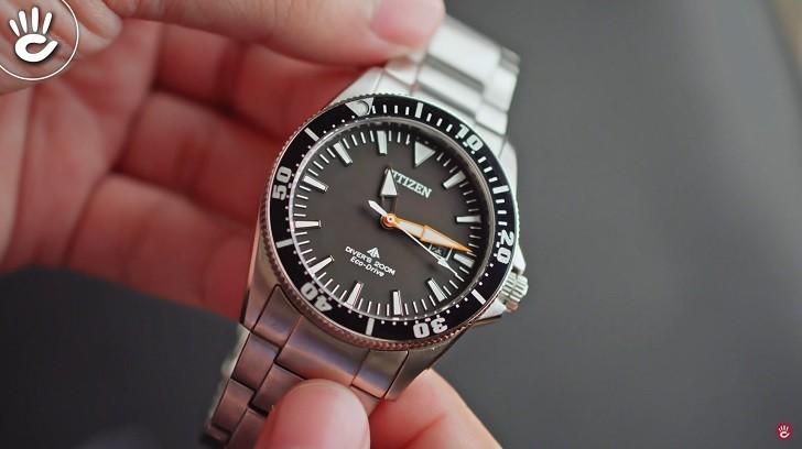 Review chiếc đồng hồ lặn (BN0100-51E) hiếm hoi của Citizen - Ảnh: 2