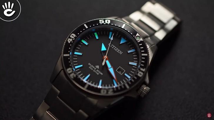 Review chiếc đồng hồ lặn (BN0100-51E) hiếm hoi của Citizen - Ảnh: 3