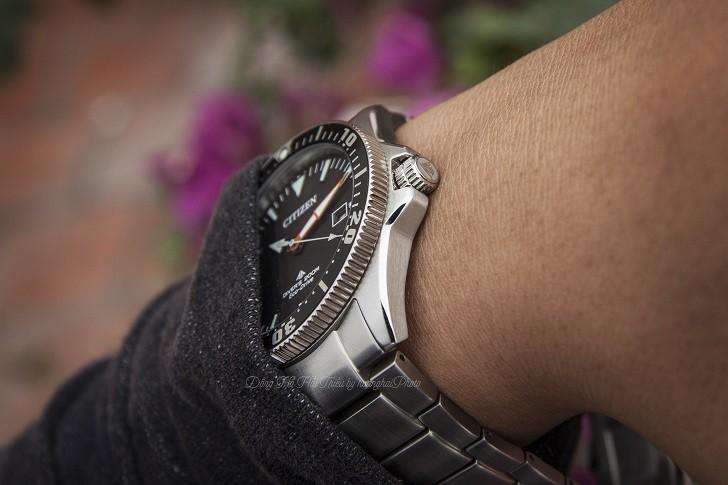 Review chiếc đồng hồ lặn (BN0100-51E) hiếm hoi của Citizen - Ảnh: 4
