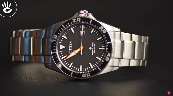 Review chiếc đồng hồ lặn (BN0100-51E) hiếm hoi của Citizen - Ảnh: 5